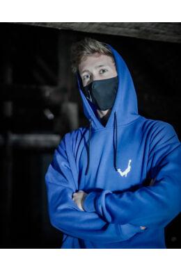 Kék Graffiti pulóver