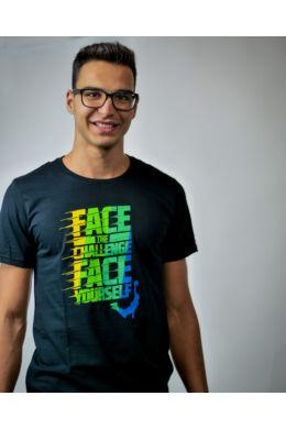 Fekete Face Team póló